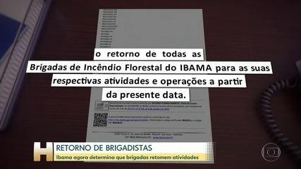 Há duas semanas, crise financeira fez Ibama suspender operações de combate a incêndios; relembre