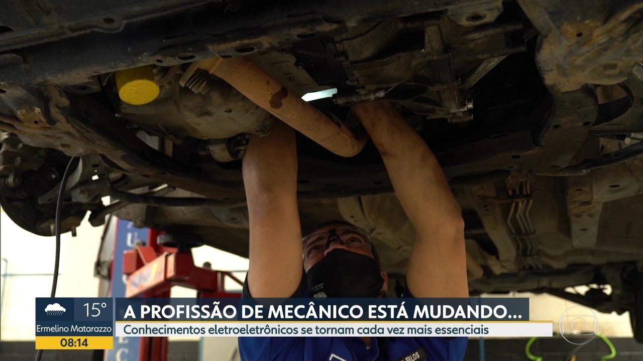 Mecânicos precisam se adaptar às novas tecnologias dos veículos